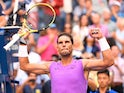 Rafael Nadal of Spain after beating Hyeon Chung of Korea in the third round on day six of the 2019 U.S. Open tennis tournament at USTA Billie Jean King National Tennis Center on August 31, 2019