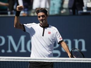 Roger Federer back to top form in straight-sets win over Dan Evans