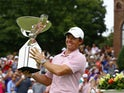 Rory McIlroy pictured after winning the Tour Championship on August 25, 2019