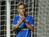 Scott Arfield in action for Rangers on August 29, 2019