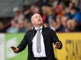 Burnley manager Sean Dyche on August 31, 2019