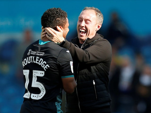 Swansea City boss Steve Cooper pictured on August 31, 2019