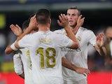 Real Madrid's Gareth Bale celebrates scoring against Villarreal in La Liga on September 1, 2019