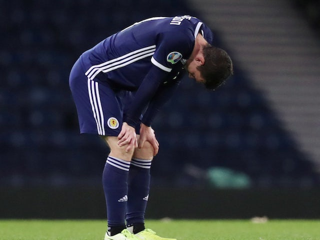 Result: Russia come from behind to deal hammer blow to Scotland's Euro hopes