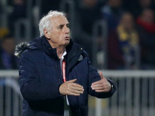Kosovo manager Bernard Challandes pictured in March 2019