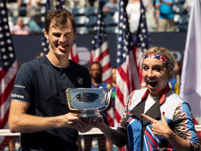 Result: Jamie Murray wins US Open mixed doubles