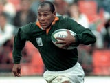 Chester Williams in action for South Africa in June 1995
