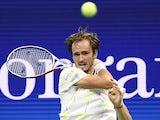 Daniil Medvedev in action at the US Open on September 6, 2019