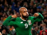 David McGoldrick pictured for Republic of Ireland on September 5, 2019