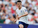 Declan Rice in action for England on September 7, 2019