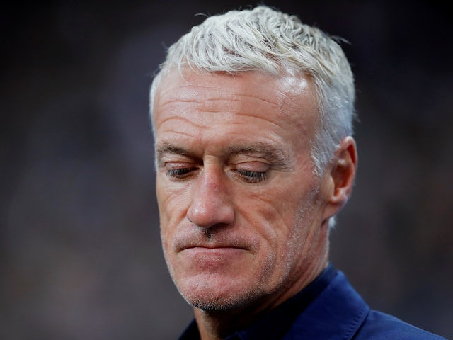 Deschamps happy with France progress after win over Andorra