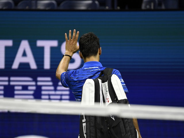 Result: Novak Djokovic booed off court as he retires against Stanislas Wawrinka