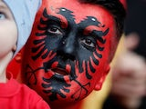 A generic Albania fan pictured September 7, 2019