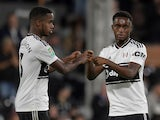 Ryan Sessegnon and Steven Sessegnon pictured in action for Fulham in August 2018