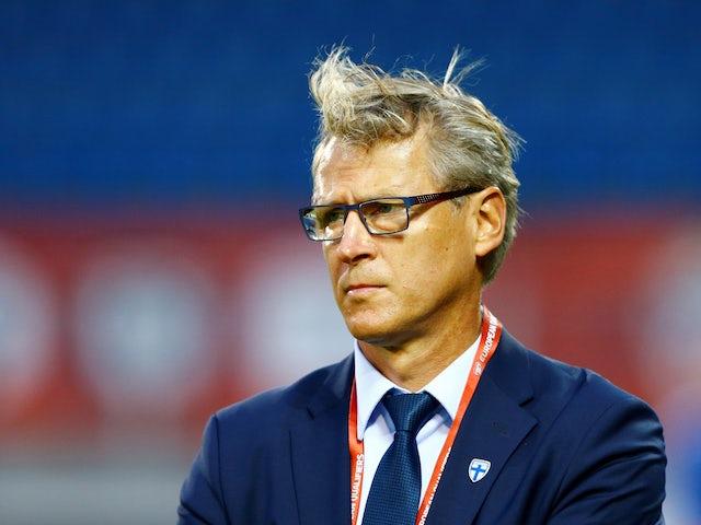 Finland boss Markku Kanerva pictured on June 11, 2019