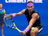 Rafael Nadal in action during the US Open final on September 8, 2019