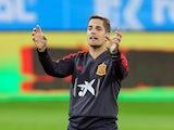 Robert Moreno takes Spain training on September 4, 2019