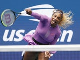 Serena Williams in action during the US Open final on September 7, 2019