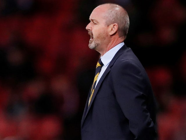 Steve Clarke admits Scotland automatic qualification hopes are over