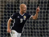 Steven Naismith pictured for Scotland in September 2018
