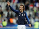 Antoine Griezmann in action for France on September 10, 2019