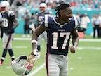 Result: Antonio Brown scores on debut as New England Patriots thrash Dolphins