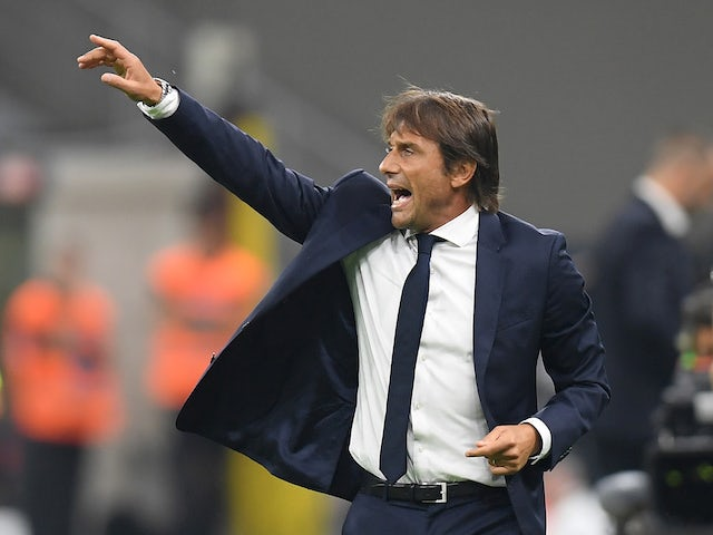 Inter Milan coach Antonio Conte pictured on September 14, 2019