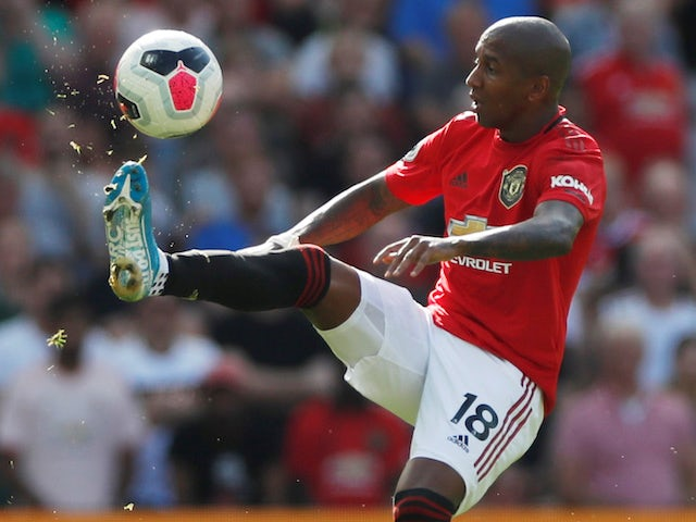 Ashley Young Storms Out Manchester United Training Sports Mole