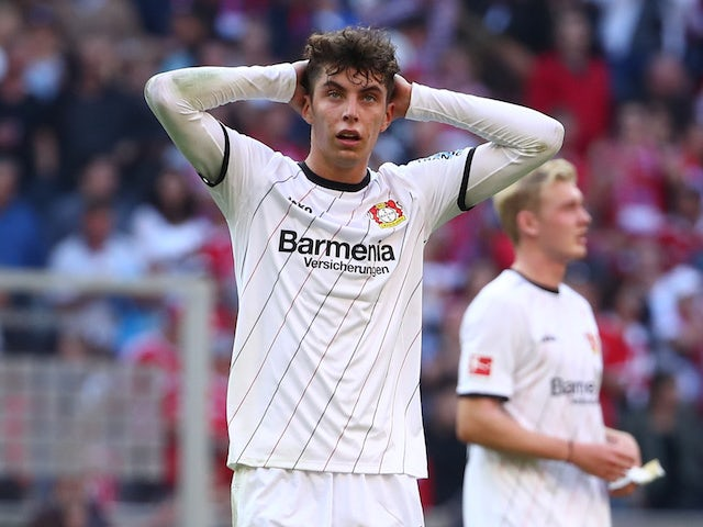 Liverpool 'to spend £107m on Havertz'