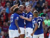 Dominic Calvert-Lewin scores an equaliser for Everton on September 15, 2019