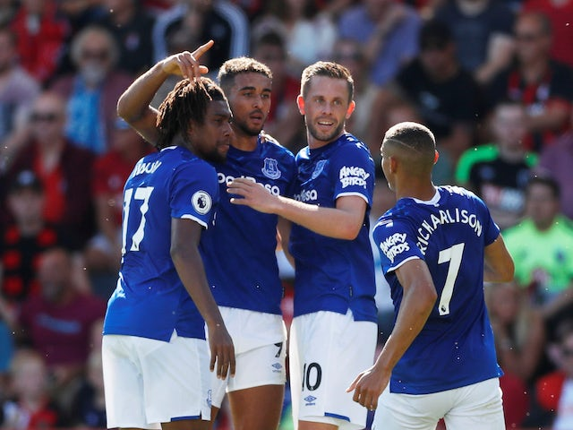 Dominic Calvert-Lewin scores an equaliser for Everton on September 15, 2019