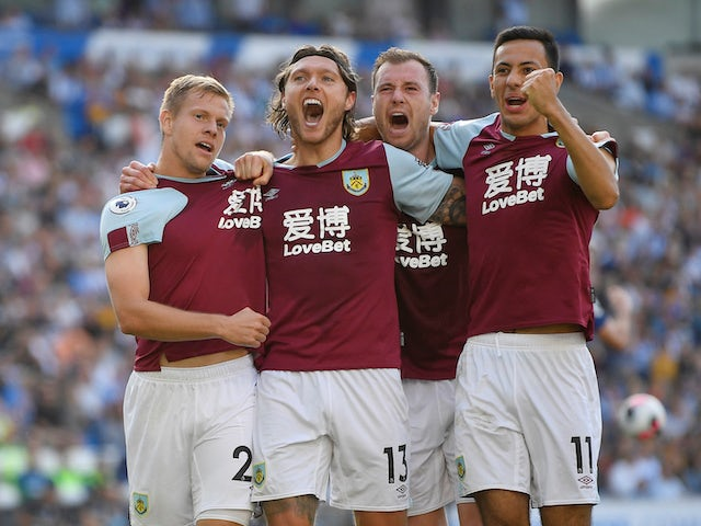Result: Jeff Hendrick's late equaliser earns Burnley draw at Brighton