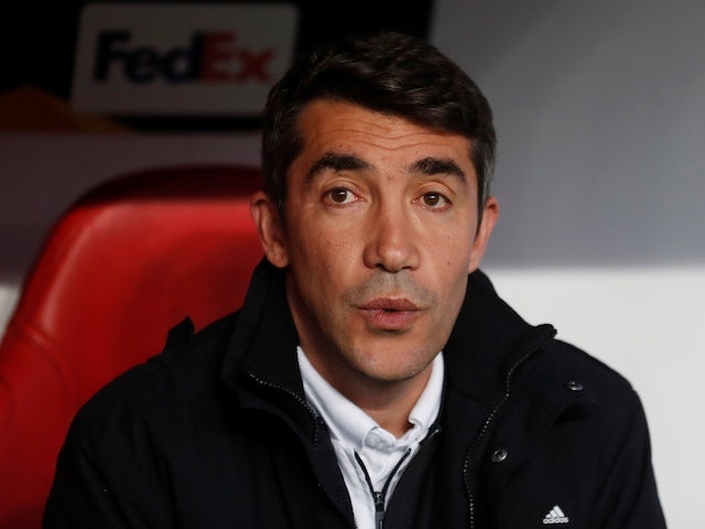 Benfica coach Bruno Lage pictured in April 2019