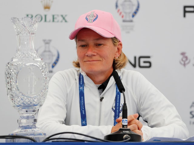 Former champion Catriona Matthew rolls back the years at Royal Troon
