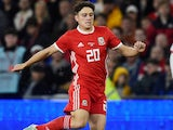Daniel James in action for Wales on September 9, 2019