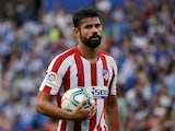 Diego Costa in action for Atletico Madrid on September 14, 2019