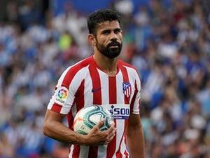 Costa trains with Atletico side ahead of Liverpool