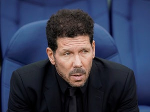 Atletico Madrid manager Diego Simeone pictured on September 14, 2019