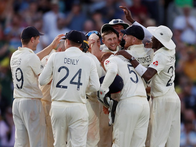 Result: England win fifth Test to salvage Ashes draw