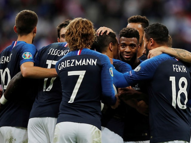 Result: France ease past Andorra to keep qualifying hopes on track