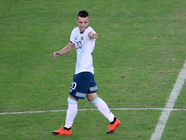 Giovani Lo Celso pictured in June 2019