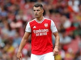 Granit Xhaka pictured in July 2019