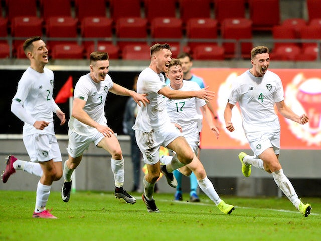 Result: Troy Parrett brace helps Republic of Ireland Under-21s to win in Sweden