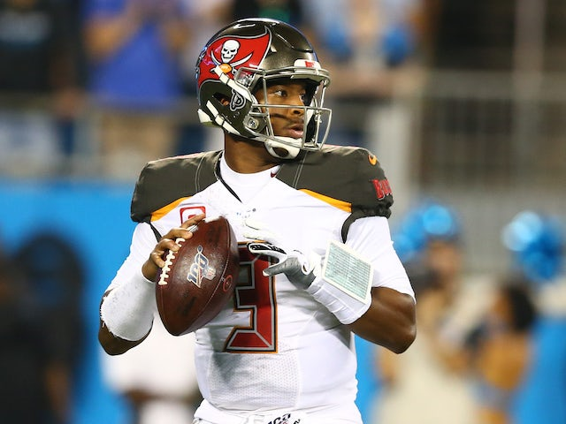 Tampa Bay Buccaneers beat Carolina Panthers to give coach Arians first win