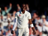 Jofra Archer in action for England on September 13, 2019