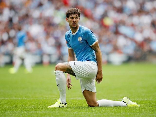 John Stones pictured on August 4, 2019