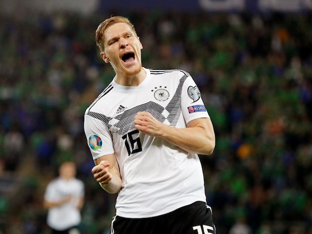 Result: Germany edge past Northern Ireland to move top of group