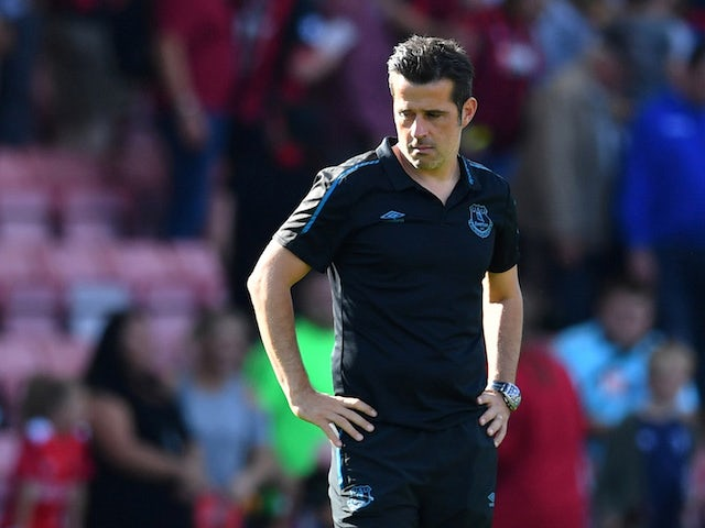 Everton manager Marco Silva pictured on September 15, 2019