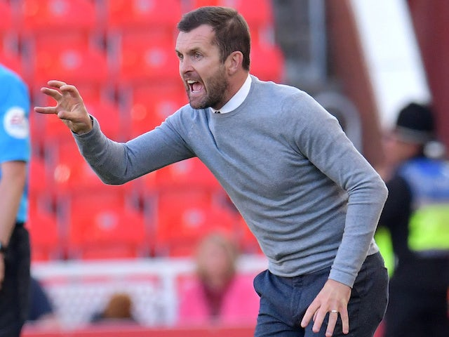 Under-fire Nathan Jones takes