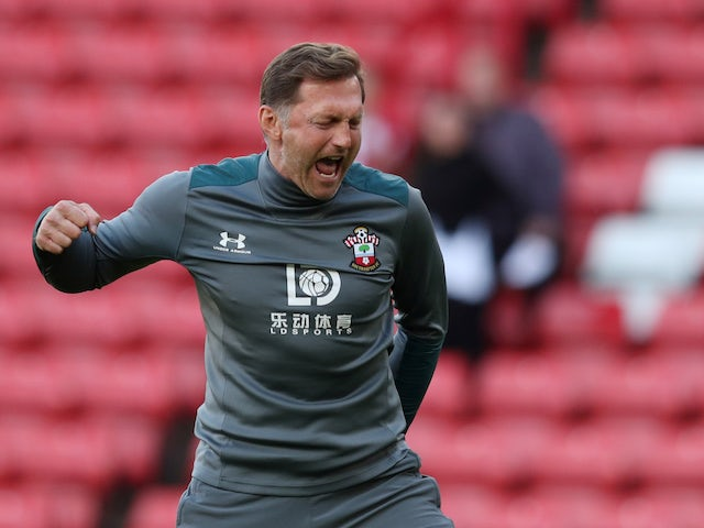 Southampton manager Ralph Hasenhuttl pictured in September 14, 2019